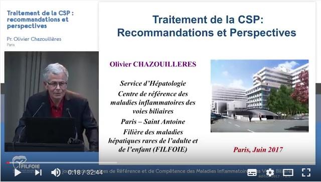 Vidéo Olivier Chazouillères